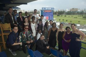 big eye branding staff at the races