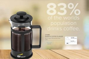 corporate gift coffee plunger