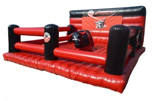 inflatable rodeo game