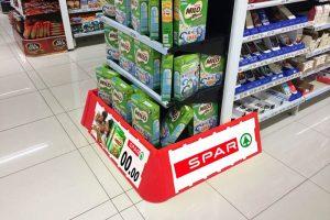 retail display pallet guards