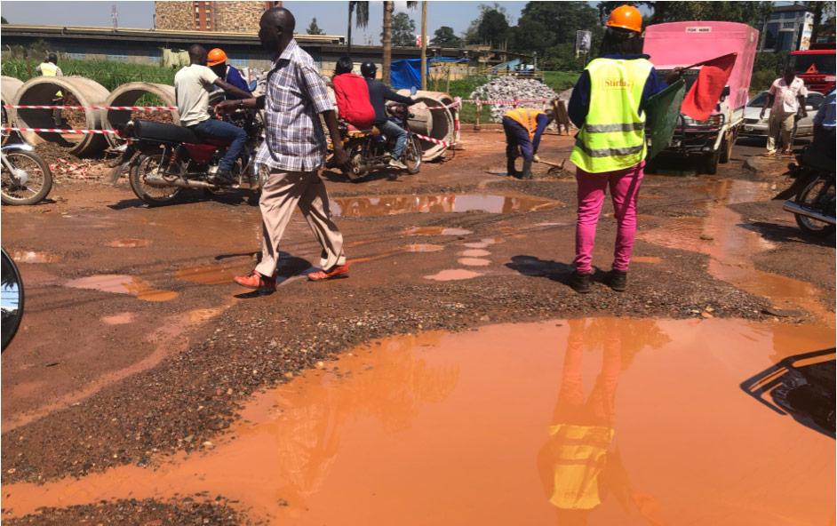 streets of kampala in uganda
